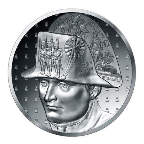 (EUR07.Proof.2021.10041356550000) 20 euro France 2021 argent BE - Napoléon Avers