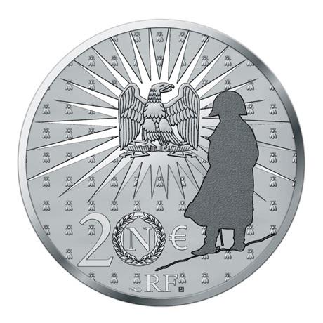 (EUR07.Proof.2021.10041356550000) 20 euro France 2021 argent BE - Napoléon Revers