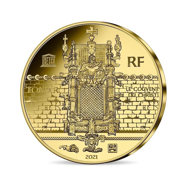 (EUR07.Proof.2021.10041356570000) 50 euro France 2021 Proof gold - Magellan Reverse (zoom)