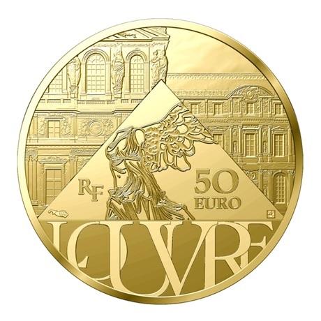 (EUR07.Proof.2021.10041356690000) 50 euro France 2021 or BE - Sacre de Napoléon Revers