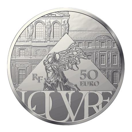 (EUR07.Proof.2021.10041356700000) 50 euro France 2021 argent BE - Sacre de Napoléon Revers