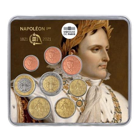 (EUR07.mini-set.2021.10041359040000) Mini-set BU France 2021 - Napoléon Recto