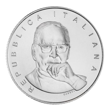 (EUR10.BU.2021.48-2MS10-21F013) 5 euro Italie 2021 argent BU - Ennio Morricone Avers
