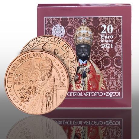 (EUR19.20.E.2021.CN1572) 20 euro Vatican 2021 - Saint Pierre (packaging)