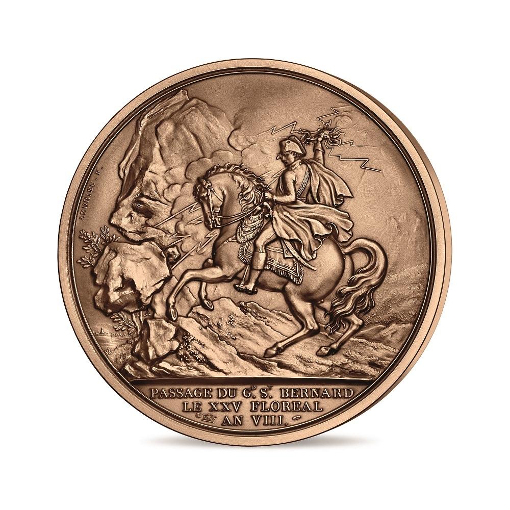 (FMED.Méd.MdP.n.d._2021_.100113587700P0) Bronze medal - Napoléon Obverse (zoom)