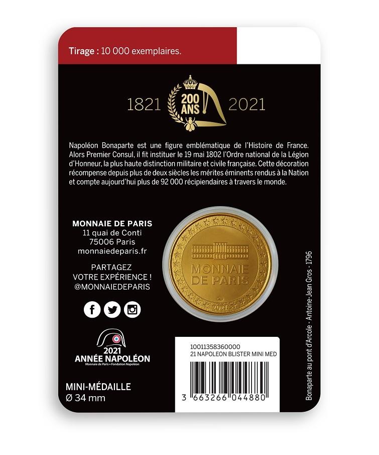 (FMED.Méd.event.2021.10011358360000) Event token - Legion of Honour Back (zoom)