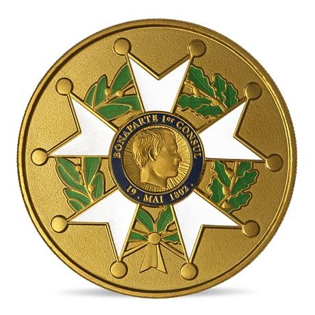 (FMED.Méd.event.2021.10011358360000) Jeton événementiel - Légion Honneur Avers