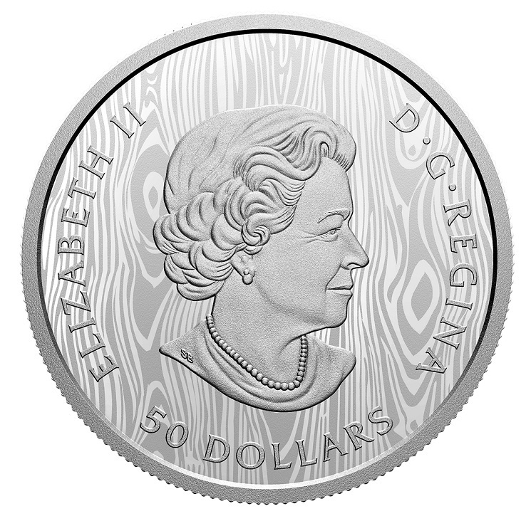 (W037.50.D.2021.200455) 50 Dollars Multilayered cougar 2021 - Proof silver Obverse (zoom)