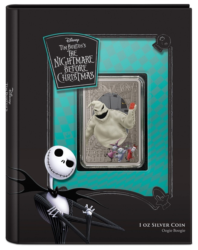 (W160.2.D.2021.30-01049) 2 Dollars Niue 2021 1 ounce Antiqued silver - Nightmare Before Christmas (closed) (zoom)