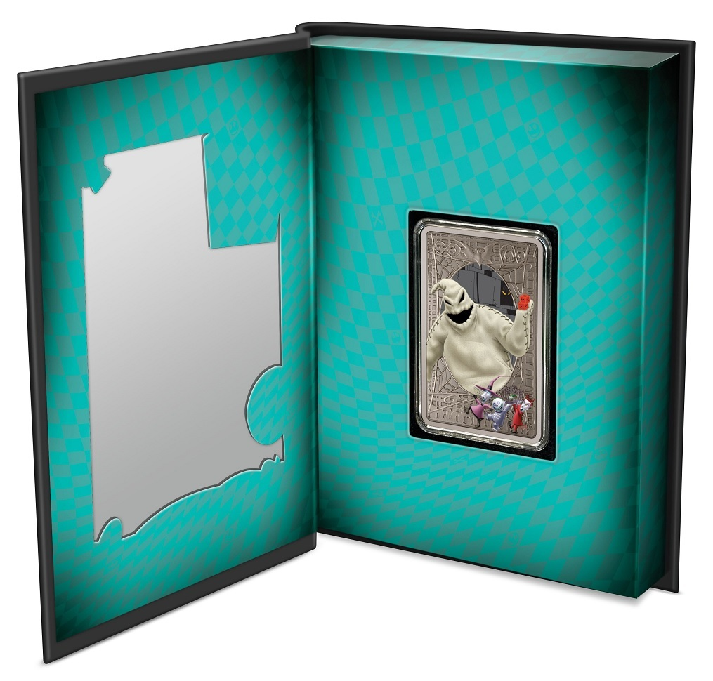 (W160.2.D.2021.30-01049) 2 Dollars Niue 2021 1 ounce Antiqued silver - Nightmare Before Christmas (open) (zoom)