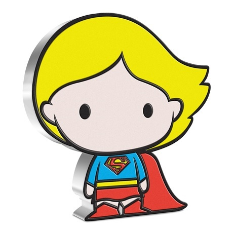 (W160.2.D.2021.30-01059) 2 Dollars Niue 2021 1 once argent BE - Chibi Supergirl Revers