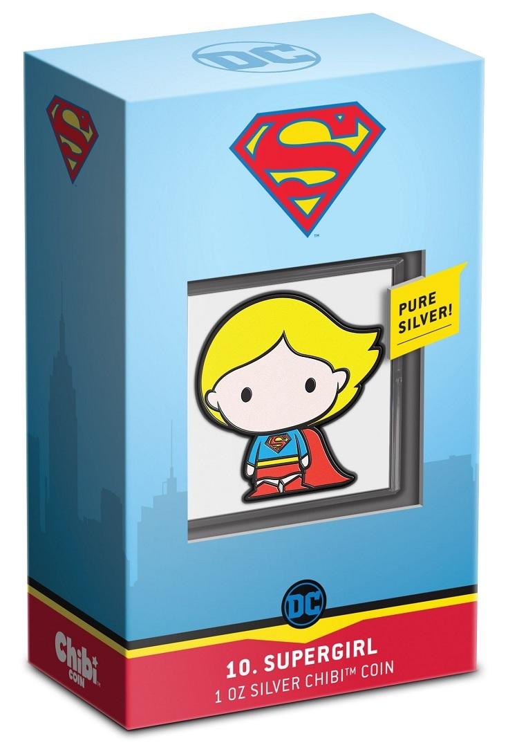 (W160.2.D.2021.30-01059) 2 Dollars Niue 2021 1 oz Proof Ag - Chibi Supergirl (packaging) (zoom)