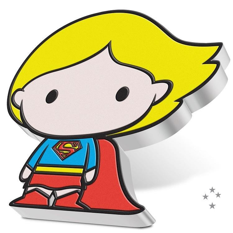 (W160.2.D.2021.30-01059) 2 Dollars Niue 2021 1 oz Proof silver - Chibi Supergirl (edge) (zoom)