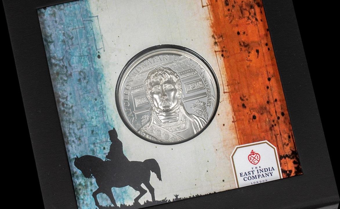 (W191.2.P.2021.29563) 2 Pounds Napoleon Bonaparte 2021 - Proof Ag (packaging) (zoom)