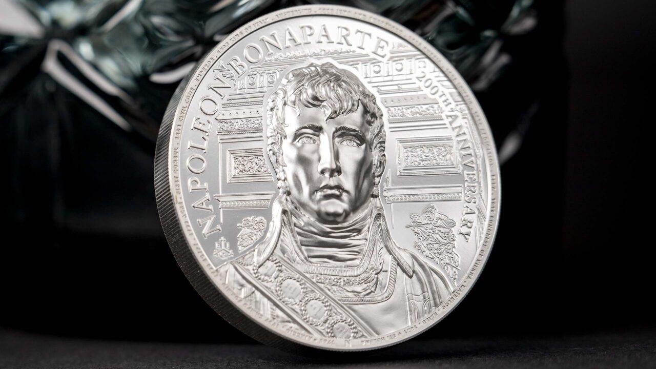 (W191.2.P.2021.29563) 2 Pounds Napoleon Bonaparte 2021 - Proof silver (zoom)