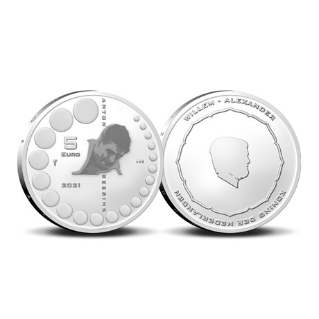 (EUR14.BU.2021.0111002) 5 euro Pays-Bas 2021 BU - Anton Geesink
