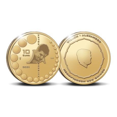 (EUR14.Proof.2021.0110995) 10 euro Pays-Bas 2021 Au BE - Anton Geesink
