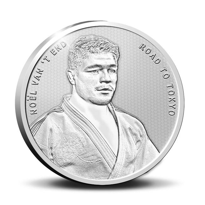 (EUR14.Proof.2021.0111545) Diptych Netherlands 2021 Proof Ag - Anton Geesink (medal obverse) (zoom)