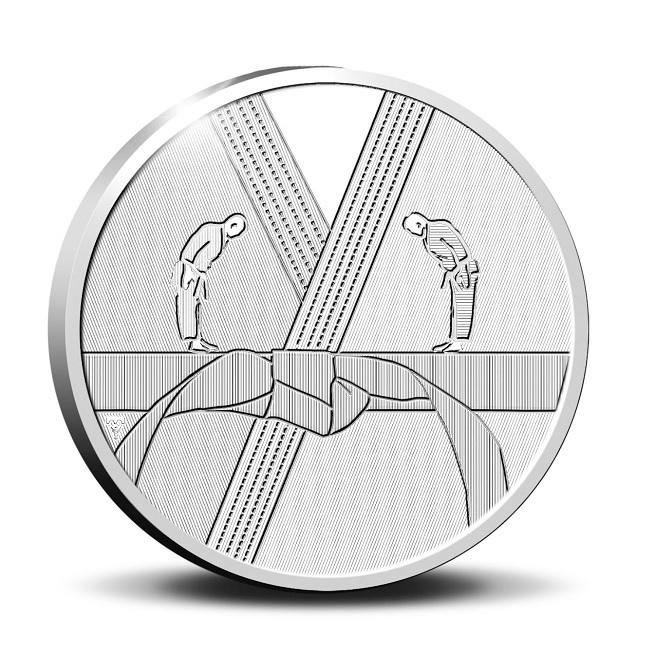 (EUR14.Proof.2021.0111545) Diptych Netherlands 2021 Proof Ag - Anton Geesink (medal reverse) (zoom)
