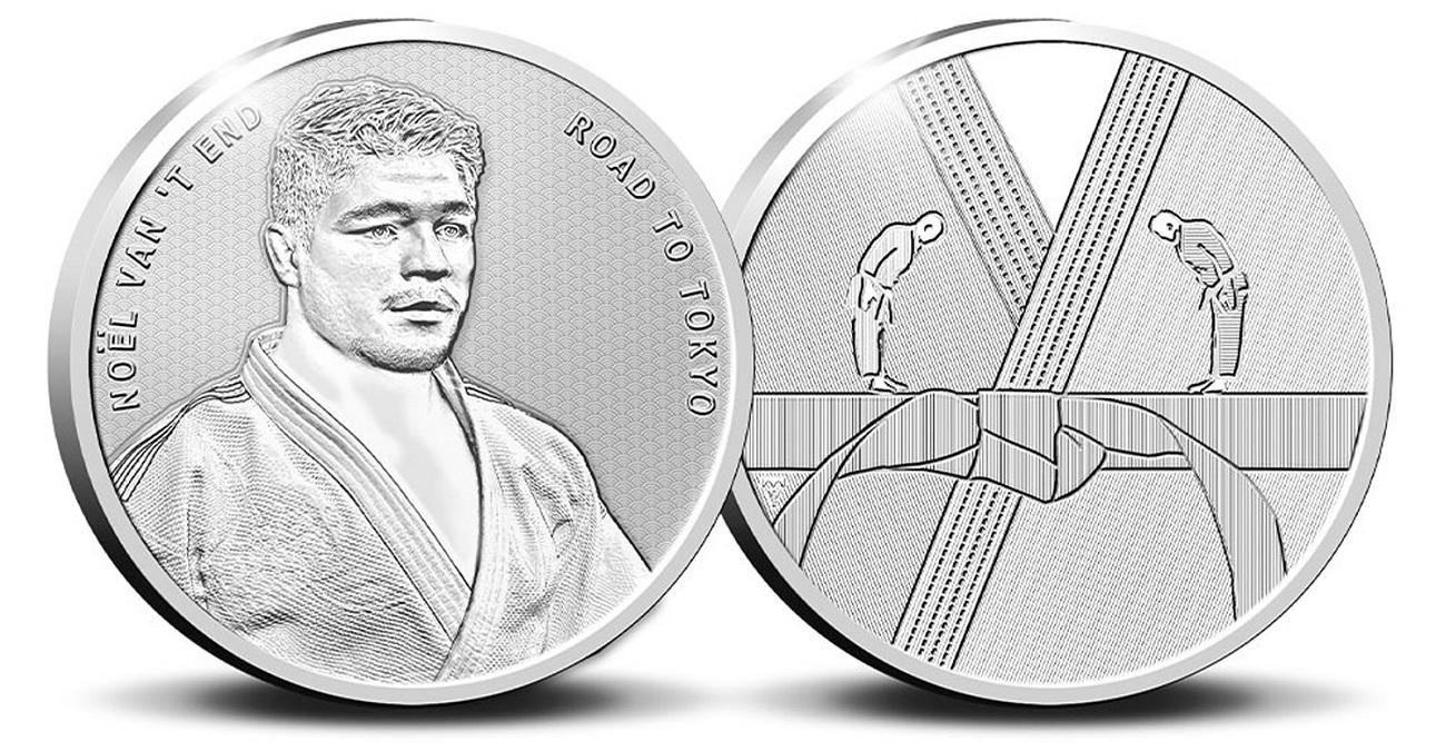 (EUR14.Proof.2021.0111545) Diptych Netherlands 2021 Proof silver - Anton Geesink (medal) (zoom)