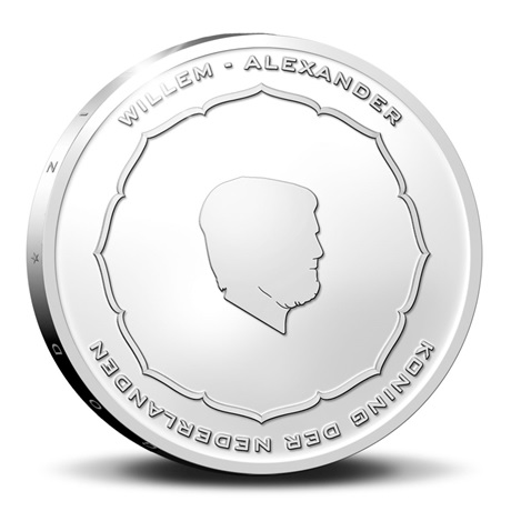 (EUR14.Proof.2021.0111545) Diptyque Pays-Bas 2021 argent BE - Anton Geesink (avers 5 euro)