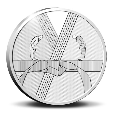 (EUR14.Proof.2021.0111545) Diptyque Pays-Bas 2021 argent BE - Anton Geesink (revers médaille)