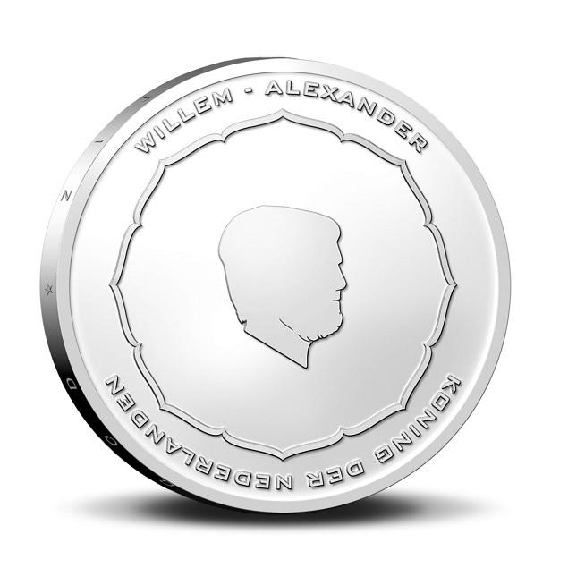 (EUR14.Unc.2021.0111004) 5 € Netherlands 2021 UNC - Anton Geesink (First Day Issue) Obverse (zoom)
