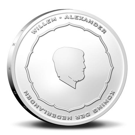(EUR14.Unc.2021.0111004) 5 € Pays-Bas 2021 UNC - Anton Geesink (pochette Premier Jour) Avers