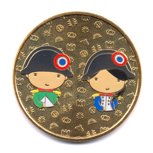 (FMED.Méd.event.2021.10011358840000) Event token - Napoléon kids Obverse (zoom)