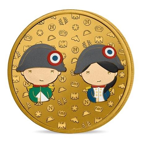 (FMED.Méd.event.2021.10011358840000) Jeton événementiel - Napoléon pour les enfants Avers