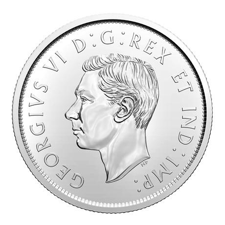 (W037.50.C.2021.1) 50 Cents Armoiries du Canada 2021 Avers