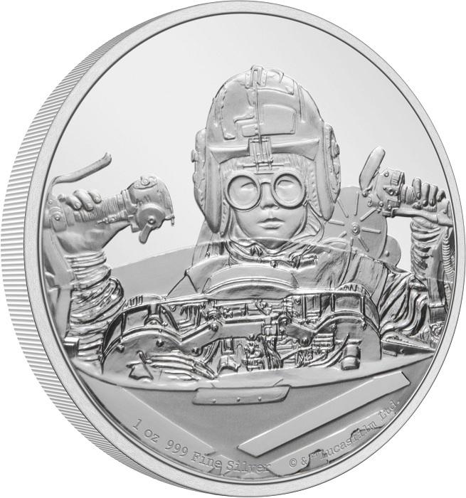 (W160.2.D.2021.30-01054) 2 Dollars Niue 2021 1 oz Proof silver - Anakin Skywalker (edge) (zoom)
