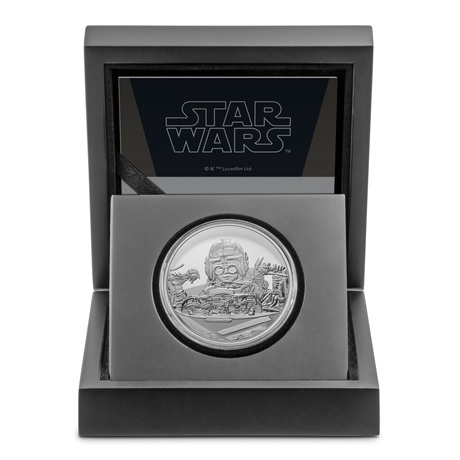 (W160.2.D.2021.30-01054) 2 Dollars Niue 2021 1 oz argent BE - Anakin Skywalker (écrin)