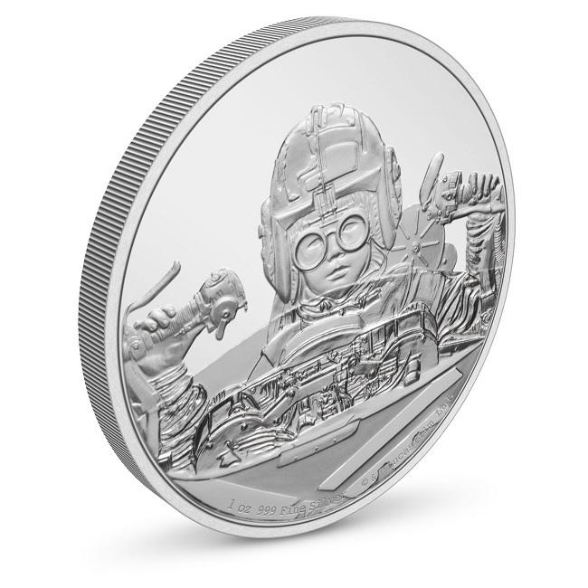 (W160.2.D.2021.30-01054) 2 $ Niue 2021 1 oz Proof Ag - Anakin Skywalker (view on reverse) (zoom)