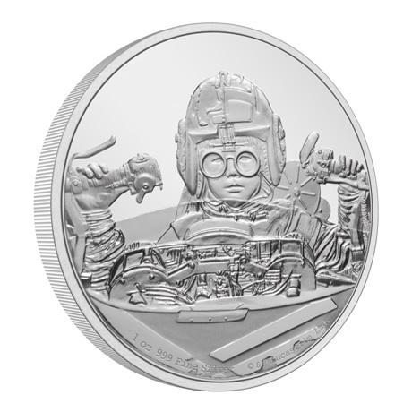 (W160.2.D.2021.30-01054) 2 $ Niue 2021 1 oz argent BE - Anakin Skywalker (tranche)