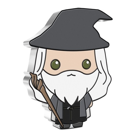 (W160.2.D.2021.30-01070) 2 Dollars Niue 2021 1 once argent BE - Chibi Gandalf Revers