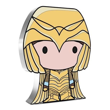(W160.2.D.2021.30-01074) 2 Dollars Niue 2021 1 once argent BE - Chibi Wonder Woman 1984 Revers