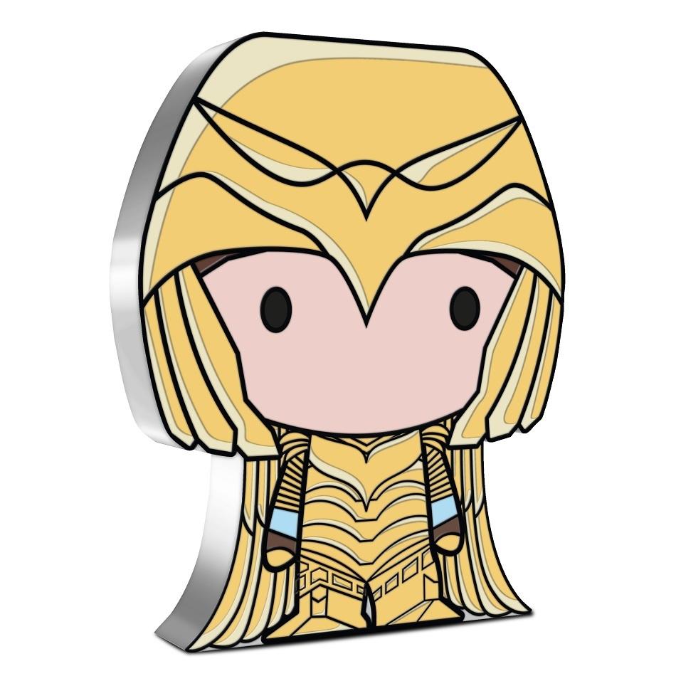 (W160.2.D.2021.30-01074) 2 Dollars Niue 2021 1 oz Proof silver - Chibi Wonder Woman 84 Reverse (zoom)