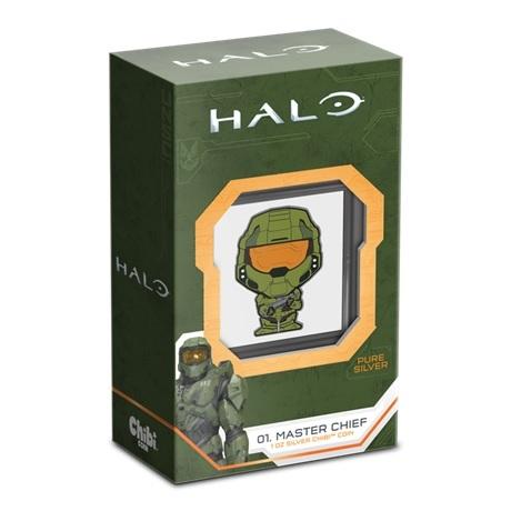 (W160.2.D.2021.30-01081) 2 $ Niue 2021 1 oz argent BE - Chibi John-117 (packaging)