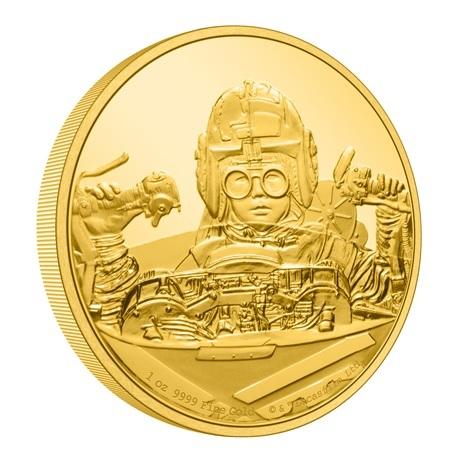 (W160.250.D.2021.30-01056) 250 Dollars Niue 2021 1 once Au BE - Anakin Skywalker (tranche)