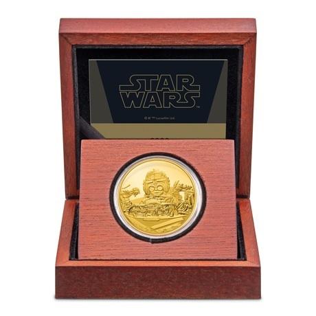 (W160.250.D.2021.30-01056) 250 Dollars Niue 2021 1 once or BE - Anakin Skywalker (écrin)