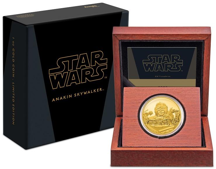 (W160.250.D.2021.30-01056) 250 $ Niue 2021 1 oz Proof Au - Anakin Skywalker (case and box) (zoom)