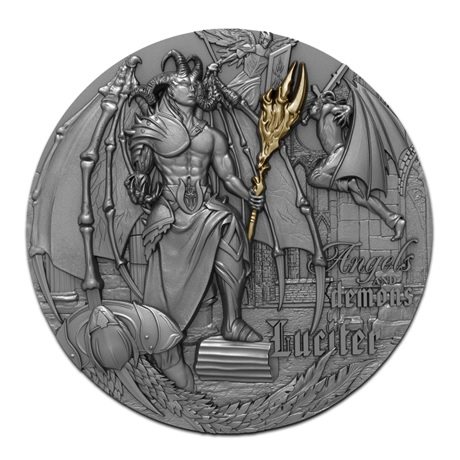 (W160.5.D.2021.1) 5 Dollars Lucifer 2021 - Argent Antique Revers