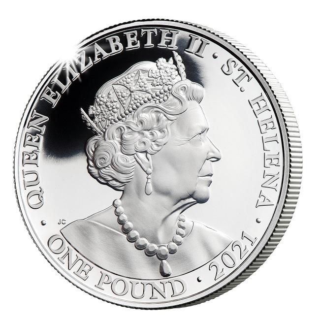 (W191.1.P.2021.FG21TRUSP1OZ) 1 Pound Truth 2021 - Proof silver Obverse (zoom)