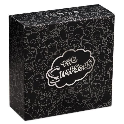 (W228.1.1.D.2019.19D43AAA) 1 $ Tuvalu 2019 1 oz Proof silver - Homer Simpson (box) (zoom)
