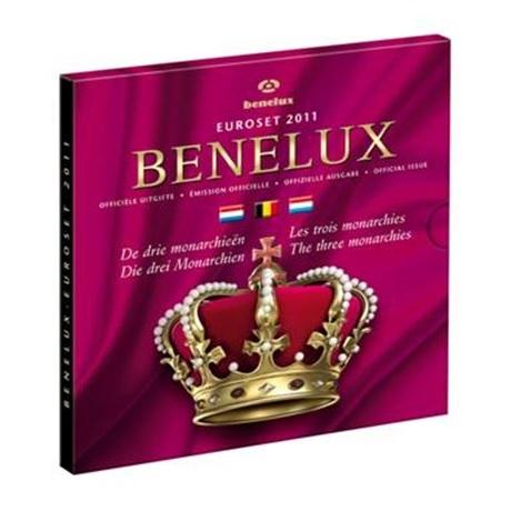 Coffret BU Benelux 2011 (les trois monarchies)