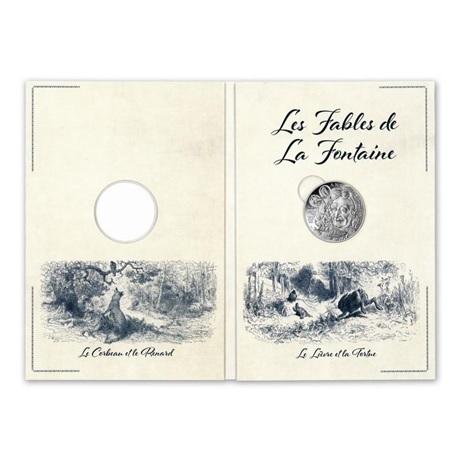 (EUR07.10.E.2021.10041355200005) 10 € France 2021 Ag - Jean de La Fontaine (packaging)