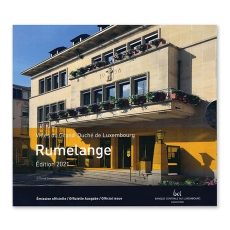 (EUR11.BU.set.2021.1) Coffret BU Luxembourg 2021 - Rumelange (Mariage Grand-ducal)