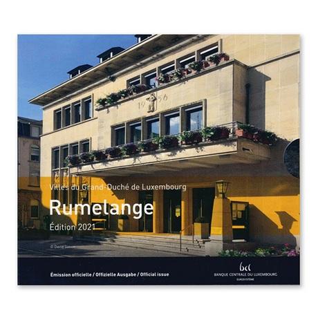 (EUR11.BU.set.2021.2) Coffret BU Luxembourg 2021 - Rumelange (Grand-Duc Jean)