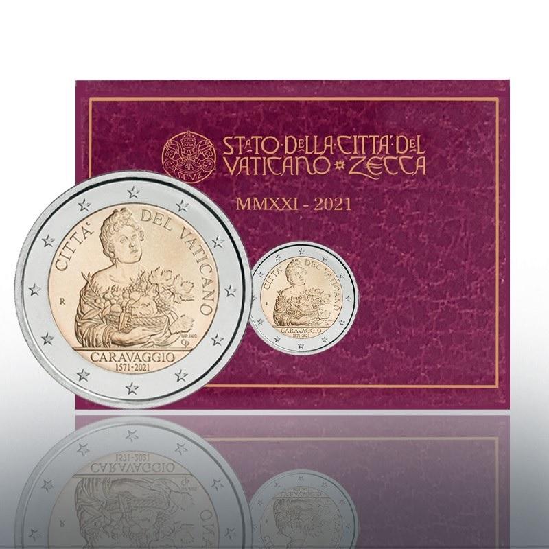 (EUR19.BU.2021.CN1580) 2 € Vatican 2021 BU - Caravaggio (zoom)